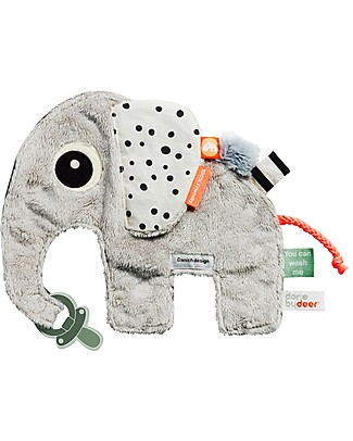 Done By Deer Cozy Friend - Elphee - Grey - Suitable from Birth Doudou & Comforters