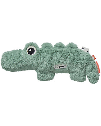 Done By Deer Cuddle Cute - Croco - Green - Suitable from Birth Doudou & Comforters