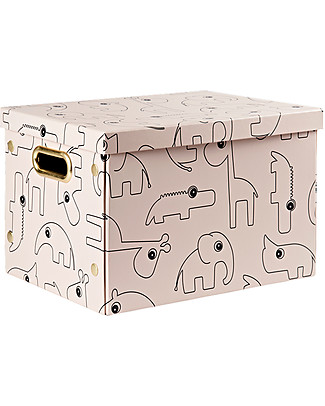 Done By Deer Folding Storage Box Contour, Powder Toy Storage Boxes