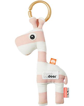 Done By Deer Hanging Toy Raffi, Powder - Cotton Newborn Toys