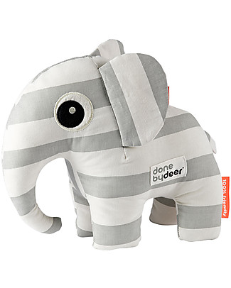 Done By Deer Soft Toy - Elphee - Grey - Suitable from Birth Soft Toys
