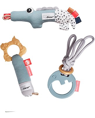Done By Deer Tiny Activity Toys - Gift Set - Suitable from Birth Stroller Accessories