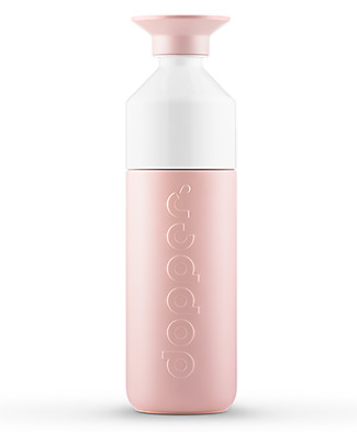 Dopper Dopper Insulated Bottle in Stainless Steel, Steamy Pink - 580 ml - BPA and phthalates free! Thermos Bottles