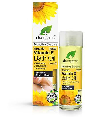 Dr.Organic Vitamin E Bath Oil, 100 ml - Hydrate and Nourish skin Body Lotions And Oils
