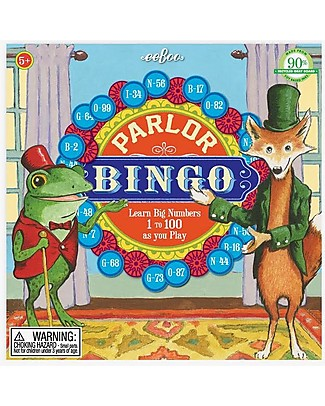 eeBoo Parlor Bingo - To Learn numbers from 1 to 100! Board Games