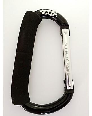 Ekko Momkey, Universal Hook, Black - Ideal for strollers! Stroller Accessories