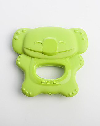 eKoala eKolly - Green Teether - Natural Bioplastic, 100% Biodegradable, Made in Italy null