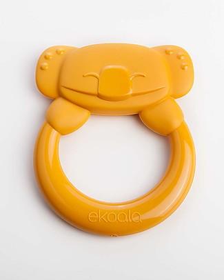 eKoala eKummy - Orange Ring Teether - Natural Bioplastic, 100% Biodegradable, Made in Italy Dummies & Soothers
