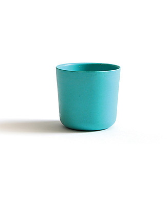 Ekobo Bambino/Gusto Small Cup in Bamboo Fibre, Lagoon - Suitable for small Hands Cups & Beakers
