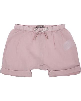 Emile et Ida Baby Bloomer, Pale Pink – 100% cotton Shorts