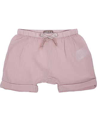 Emile et Ida Baby Bloomer, Pale Pink - 100% cotton Shorts