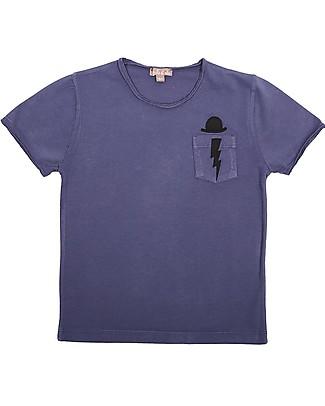 Emile et Ida Boy's T-Shirt, Blueberry - 100% cotton T-Shirts And Vests