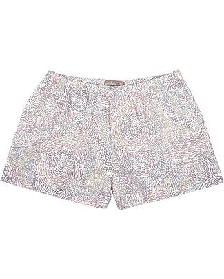 Emile et Ida Girl's Shorts, Fishes – 100% cotton Shorts