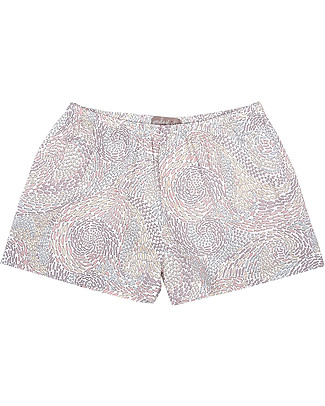 Emile et Ida Girl's Shorts, Fishes - 100% cotton Shorts