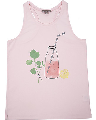 Emile et Ida Girl's Tank Top, Grenadine – 100% cotton T-Shirts And Vests