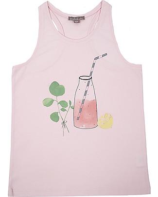 Emile et Ida Girl's Tank Top, Grenadine – 100% cotton T-Shirts And Vests