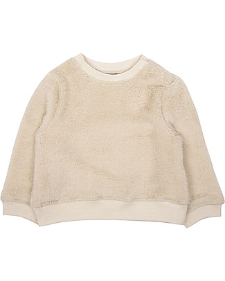 Emile et Ida Unisex Sweatshirt, Ecru - Soft and furry Sweatshirts