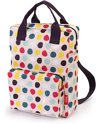 Engel Large BackPack, Dots 26 x 11 x 35 cm - Eco-Friendly! Large Backpacks