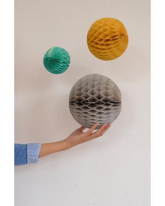 Engel Set of 3 Retro Honeycomb Spheres - Tissue Paper Bunting