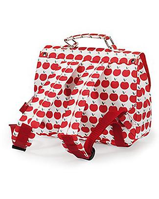 Engel Small SchoolBag, Apple 29 x 9 x 23 cm - Perfect for Preschool! Travel Bags