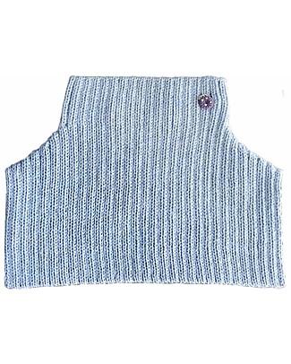 Esencia Mondo Collar with Ladybug, Aqua (1-2 and 3-4 years) – 100% Alpaca wool Scarves And Shawls