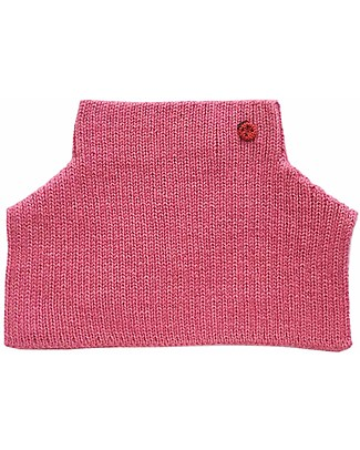 Esencia Mondo Collar with Ladybug, Rosa (1-2 and 3-4 years) – 100% Alpaca wool Scarves And Shawls