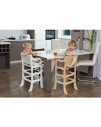 Ette Tete Wooden High Chair Morning Star, Natural High Chairs
