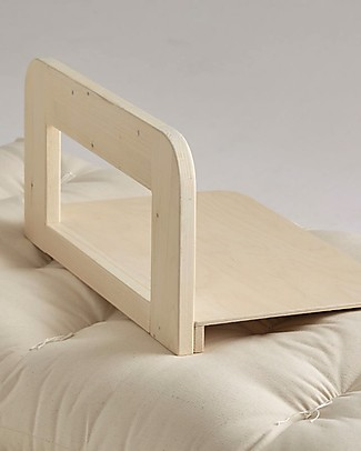 "Ettomio 2 in 1 Wooden Safety Bar ""così-no-cado"" for Ettomio Montessori Bed Montessori Beds"