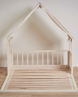 "Ettomio Extension for Montessori Bed Ninonino ""'etto-one"" - 120x200 cm - From a small to a double bed! Montessori Beds"