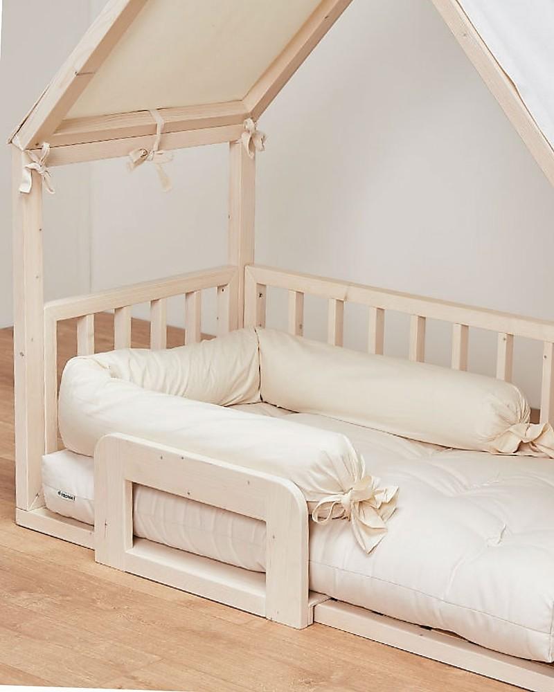 Letto Montessori.Ettomio House Shaped Montessori Bed 140x70 Cm 100 Made In