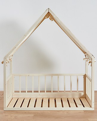 "Ettomio House-shaped Montessori bed ""Ninonino"" - 120x60 cm  Montessori Beds"