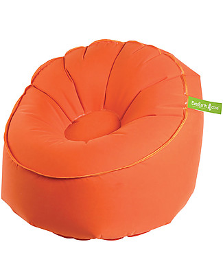 EverEarth EZAir Inflatable Rangi Chair, Orange - For Parties or at the Beach! Outdoor Games & Toys