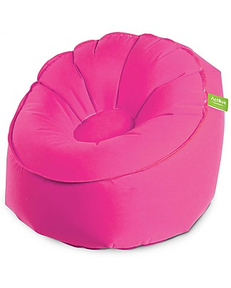 EverEarth EZAir Inflatable Rangi Chair, Pink - For Parties or at the Beach! Outdoor Games & Toys