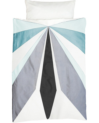 Fabelab Dream-In-Cape Duvet Cover (70 x 100 cm) + Pillow Case + Bag in 100% Organic Cotton Duvet Sets