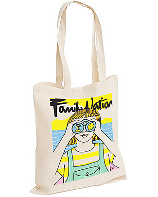 Family Nation Looking for Summer Tote Bag - 100% Cotton (limited edition) Tote Bags