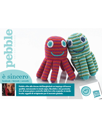 Family Nation Poster Octopus 5  Soft Toys