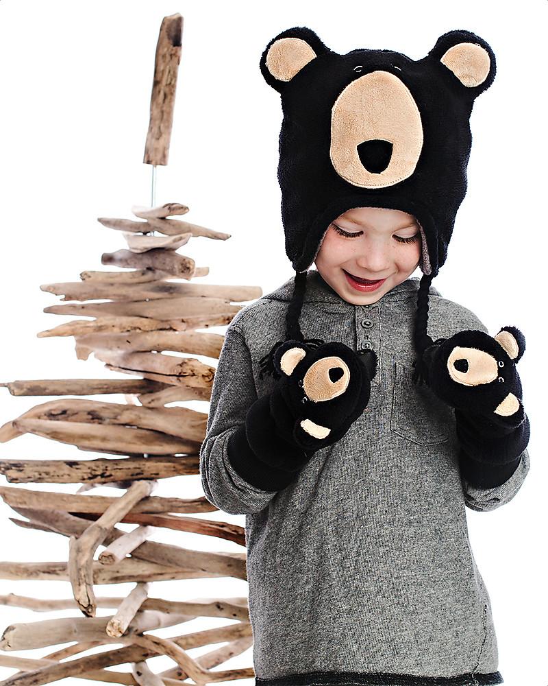 Flapjackkids in reversible winter hat anti uv upf wolf bear jpg 800x1000  Wolf winter hat 2b8213a7a111