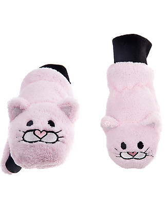 FlapJackKids Fleece Puppet Mittens Cat, 2-6 years Gloves e Mittens
