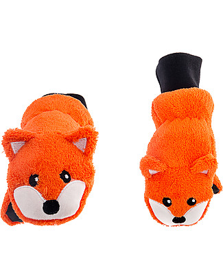 FlapJackKids Fleece Puppet Mittens Fox, 2-6 years Gloves e Mittens