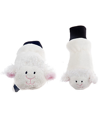 FlapJackKids Fleece Puppet Mittens Lamb, 2-6 years Winter Hats
