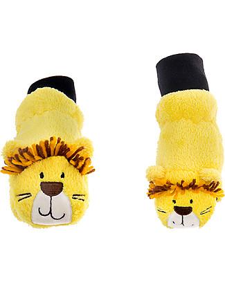 FlapJackKids Fleece Puppet Mittens Lion, 2-6 years null