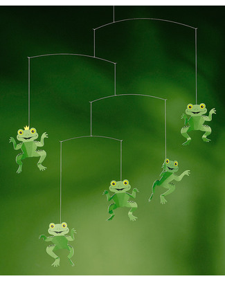 Flensted Happy Frogs Mobile (moves on its own!) Mobiles