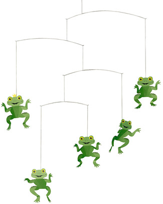 Flensted Happy Frogs Mobile (moves on its own!) null