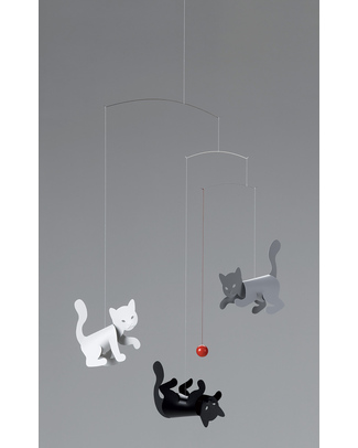 Flensted Kitty Cats Mobile (moves on its own!) Mobiles
