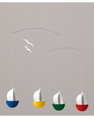 Flensted Sail Fun Mobile (moves on its own!) Mobiles
