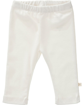 Fresk Baby Trousers, White - Organic cotton Trousers