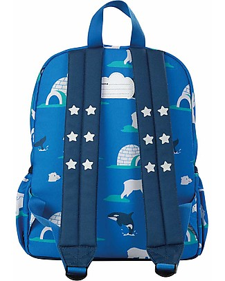 Frugi Adventures Backpack, Polar Play- 100% recycled material! Small Backpacks