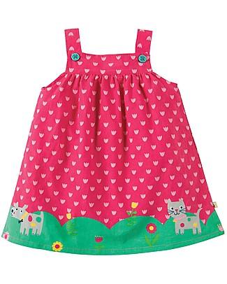 Frugi Carousel Pinafore Dress, Summer Stroll - Organic Cotton Dresses