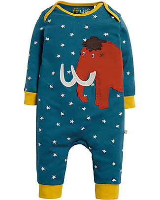 Frugi Charlie Romper, Star/Mammut - organic cotton Rompers