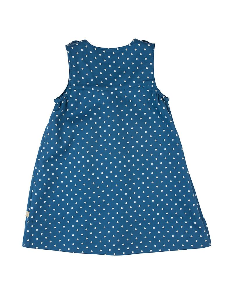 76c13d88ad Frugi Claire Reversible Dress - Ink Leopard - 100% Organic Cotton Dresses